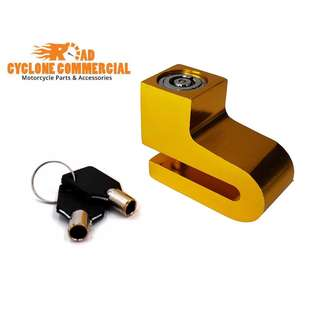 Anti-theft Disk Disc Brake Rotor Lock for Scooter Bike Bicycle Motorcycle