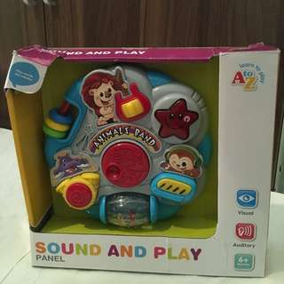 Charity Sale! Sound and Play Panel
