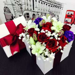 Love in the Box | Valentine's Day Gift Box | Flower | Pre Order | 02