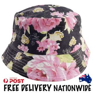 Pink Roses Bucket Hat