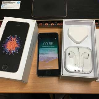 Iphone SE 64gb Space Gray FU
