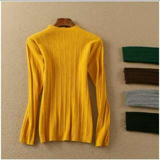 Ready Stock Knitted Top #midjan55