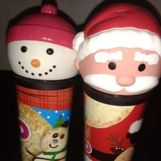 Dunkin Donut Christmas Collectible Tumbler