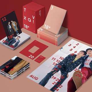 東方神起 TVXQ 2018 SEASON'S GREETINGS