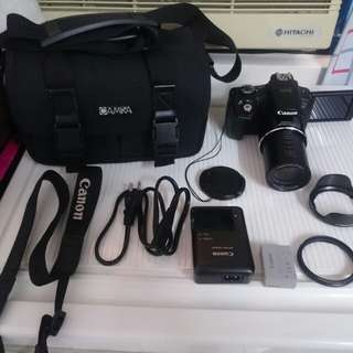 Canon SX50is, all include