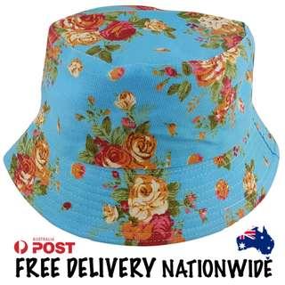 Sky Blue Bucket Hat