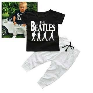 T-shirts umur S(0-6bln)M(6-12bln)L(12-18bln)XL(18-24bln)