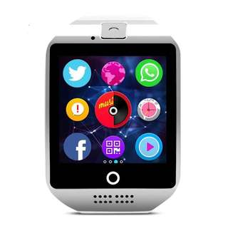 Q18 Smartwatch For Android Phone With Camera NFC Support pedometer