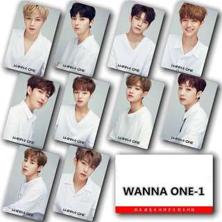 WANNA ONE STICKERS SET