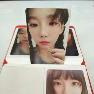 Taeyeon Official My Voice Photocard