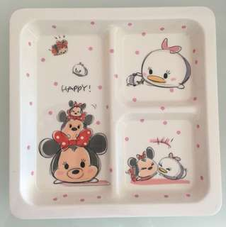 Disney Minnie Design Plate with Seperator