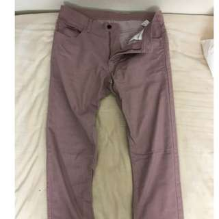 Uniqlo Pink color long pants