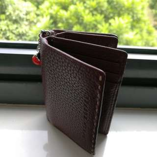 Braun Buffel Card Holder