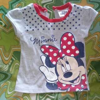 Preloved Baby Blouse (Disney Mickey Mouse)