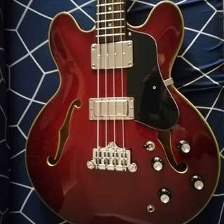 Project electric bass guitar