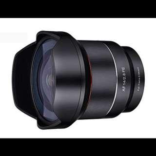 Samyang AF 14mm F2.8 FE for Sony FULL FRAME Lens