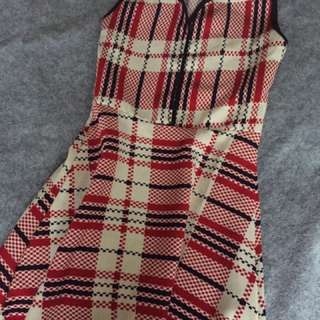 Pre-loved Checkered Dress