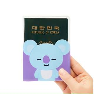 BT21 - Transparent Passport Case