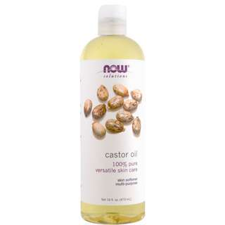 Now Solutions Castor Oil 473ml