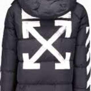 OFF WHITE winter jacket