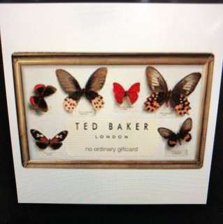£100 Ted Baker gift carf