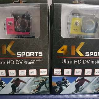 4K with Wi-Fi Action Camera
