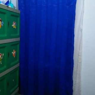 Tirai rumbai (biru benhur kuning)