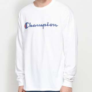Authentic Champion Long Sleeve T Shirt