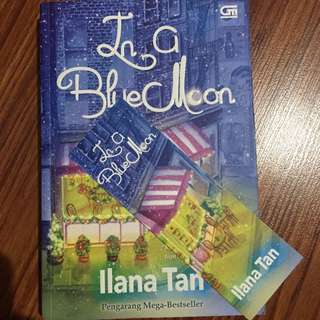 Novel Ilana Tan In a Blue Moon