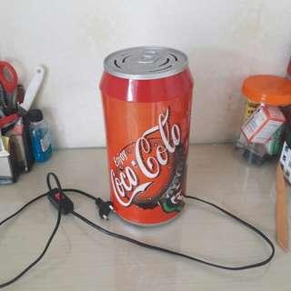 Lampu meja Coke Coca Cola