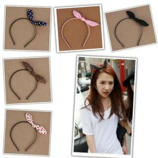 (3 for $8) Lady Ribbon Hair Band