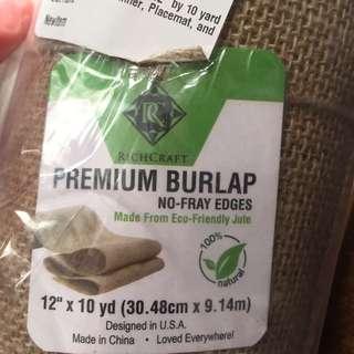 Premium Burlap