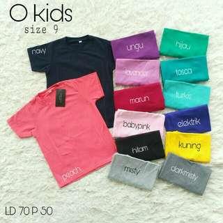 Okids size 9