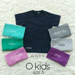 Okids size 3