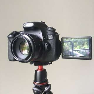 Canon 60D Body Only *PRICE REDUCED*