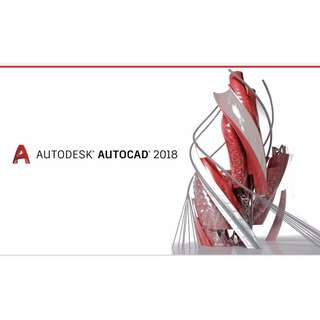 (Promo Limited Time) AutoCAD 2018 (Full Version Activated) #JAN55
