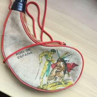 西班牙手信-羊仔皮旅行水袋