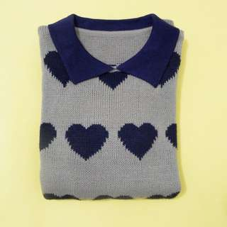KNIT WEAR HEART