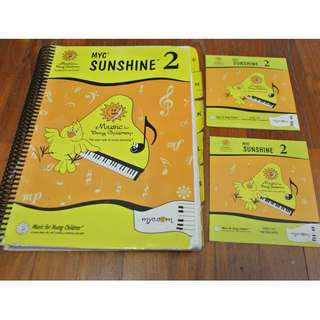 MYC Music for Young Children Sunshine 2 full level Material.