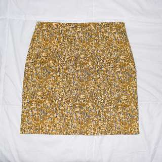 Highwaist Patterned Skirt