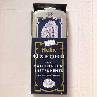 BNIB Helix Oxford Mathematical instruments set