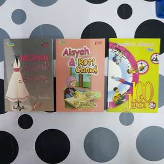 Malay Novel (3titles)