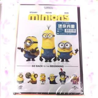 全新 包平郵 迷你兵團 Minions 正版DVD