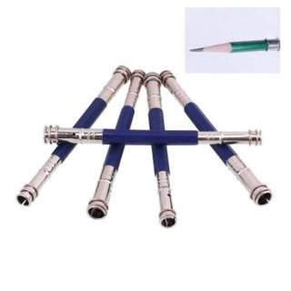 3 Pcs Double Pencil Lengthener Extension Rod