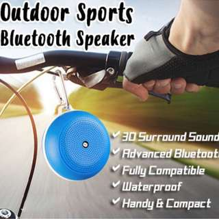 Wireless Outdoor Sports Bluetooth Speaker ★ Waterproof ★ Hands-free Speaker ★ Plays