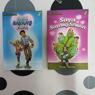 Malay story books (2titles)