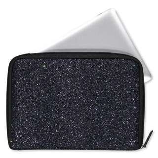 Typo Buffalo Laptop Case (Glitter Black)