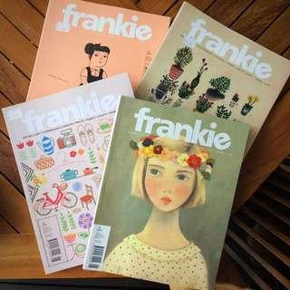 Frankie Magazines - lot of 6