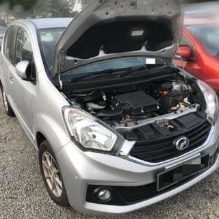 Perodua Myvi 1.3 X Auto Tahun 2015