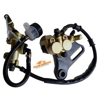 Honda XRM Caliper Master Cylinder Pump Set (Complete) Rear Brake Assembly